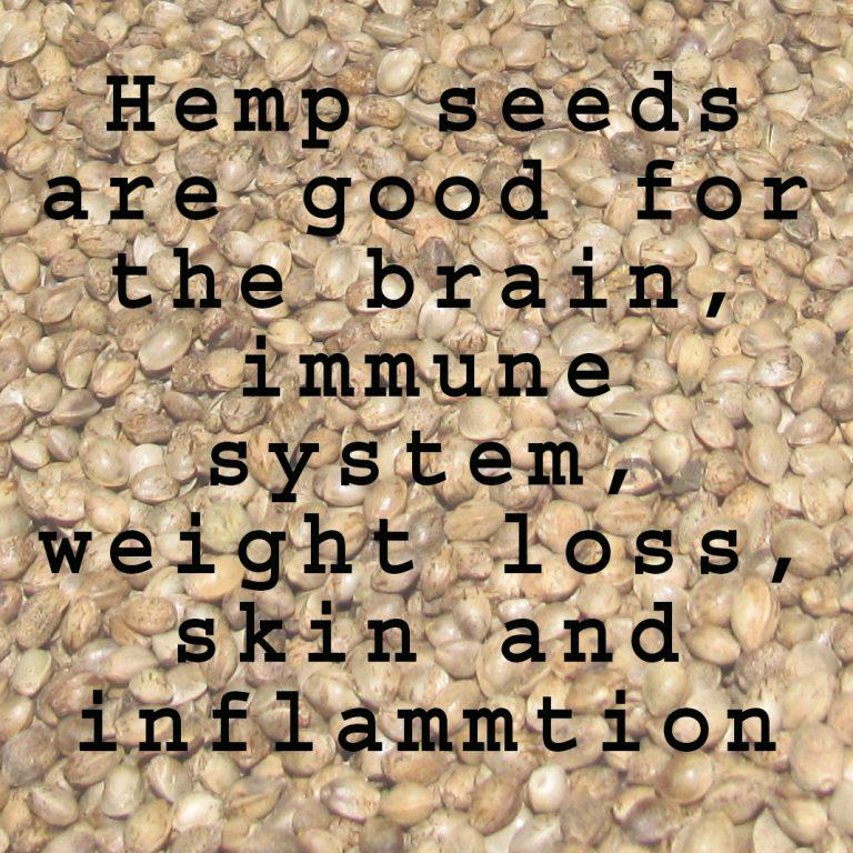 hemp healthy seeds
