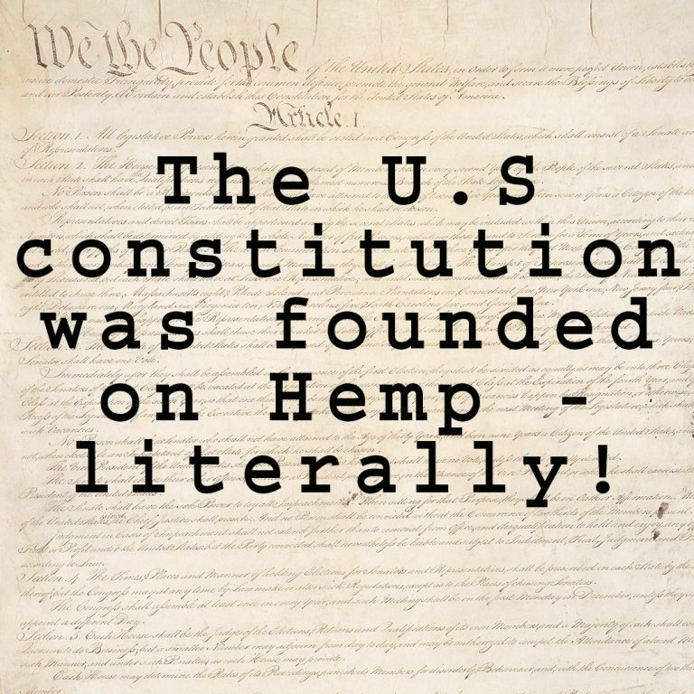 hemp us constitution