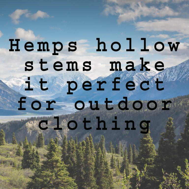 hollow stems hemp clothing