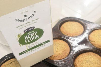 Hempiness Flour Orange Almond Cakes