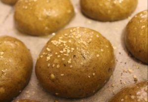 healthy hemp bread rolls