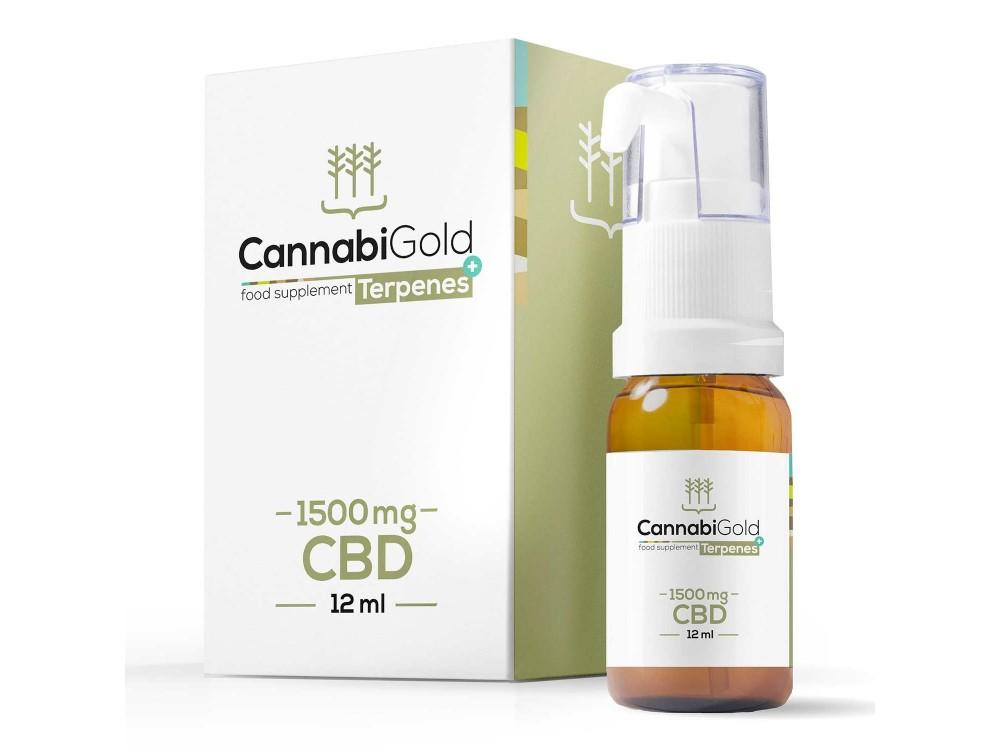 CannabiGold Terpenes+ CBD Oil 1500mg