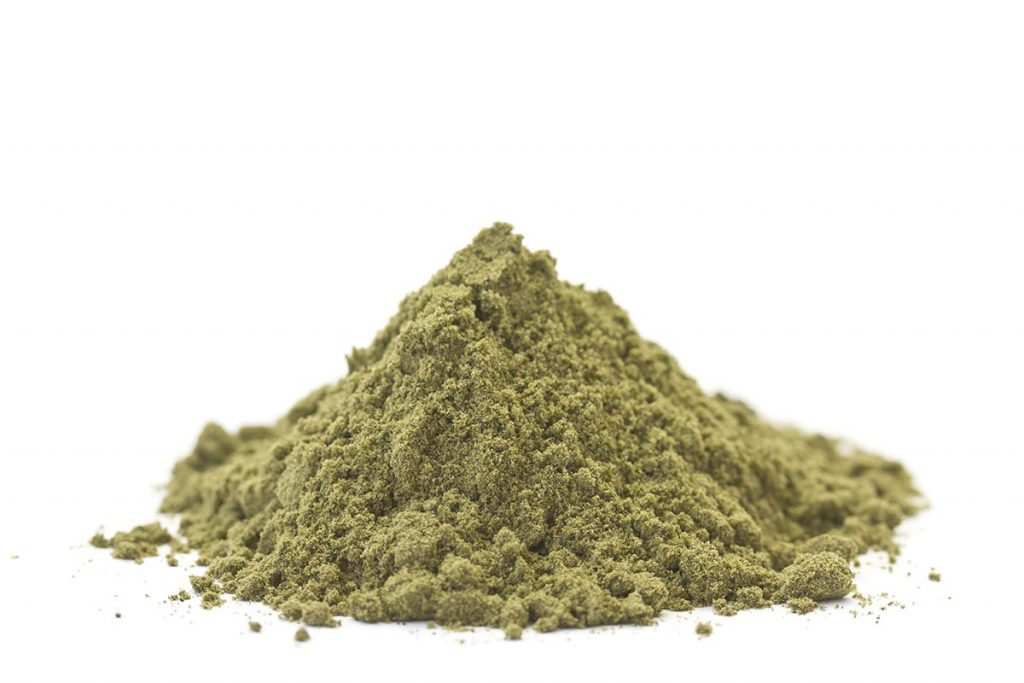 Hemp Protein Powder Pile