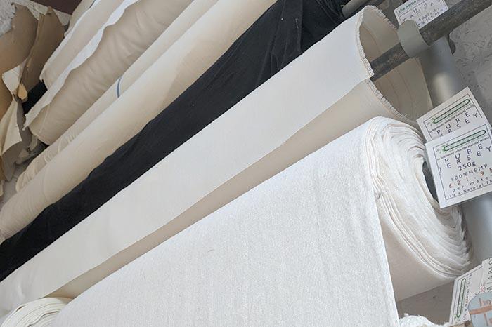 Hemp Fabrics on Rolls