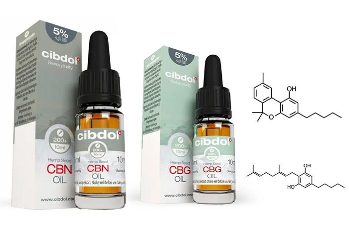 CBN and CBG Oils